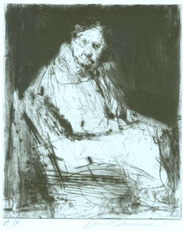 Seated Figure 1 by Lee Newman