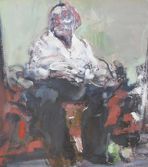 Seated Figure 2 by Lee Newman