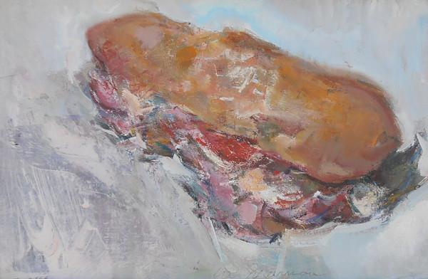 Sub Sandwich by Lee Newman
