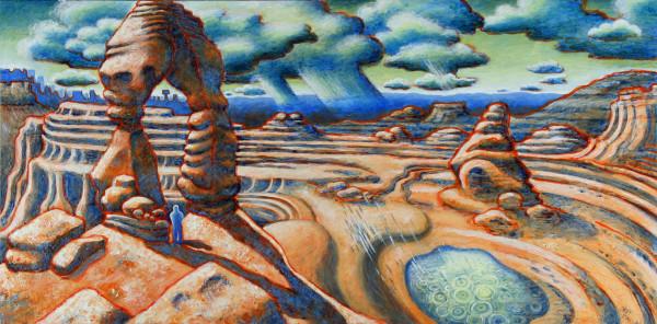"""Rain in the Desert"" by Jeff Dallas"
