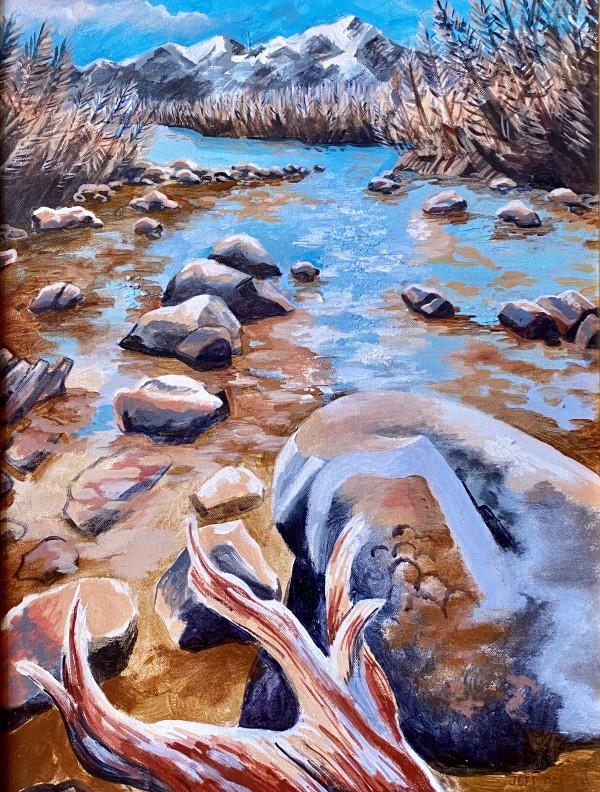 Autumn River by Jeff Dallas