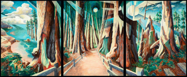 March of the Redwoods by Jeff Dallas