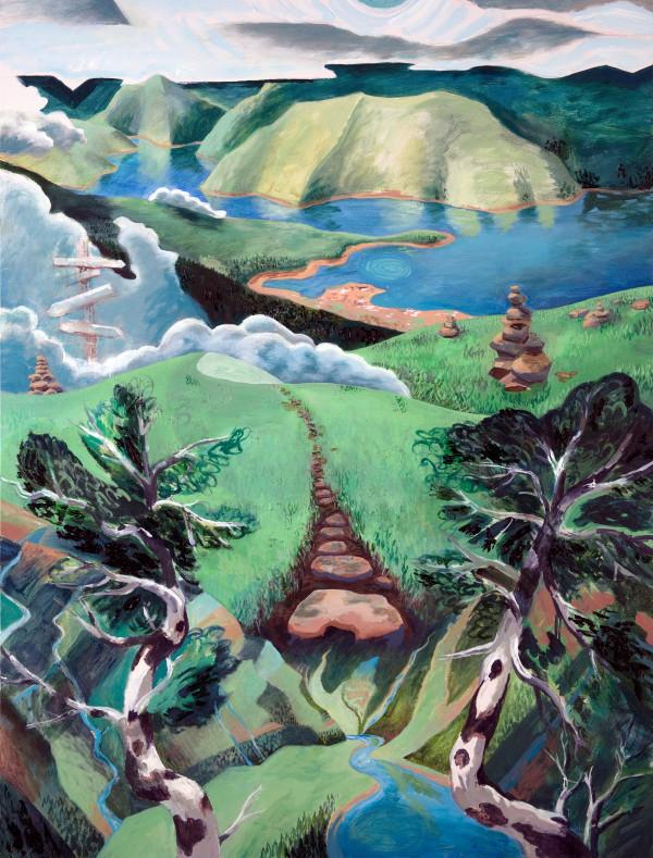 """Invitation to the Fjords"" by Jeff Dallas"