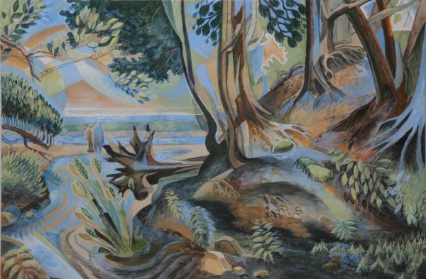 """Two Views of the Lake"" by Jeff Dallas"