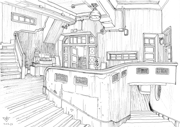 Huwei Old Firestation (Starbucks) by Evgeny Bondarenko