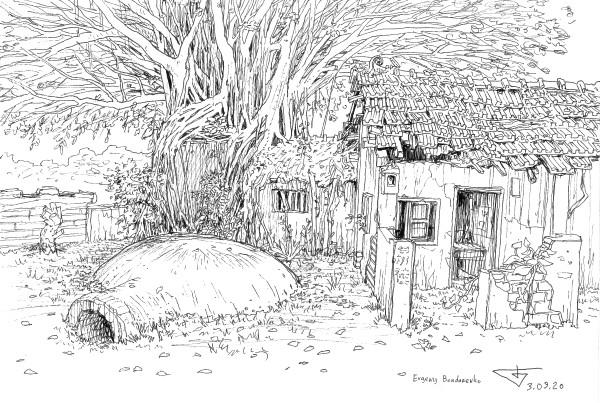 Jianguo Village Shelter by Evgeny Bondarenko