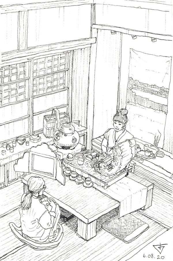 Tea ceremony at Storyhouse by Evgeny Bondarenko
