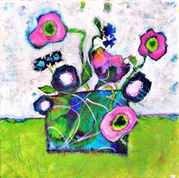 BE IN FLOWER #1 by Dana Brock