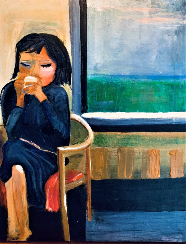 Coffee Daydream by Mimi Hwang