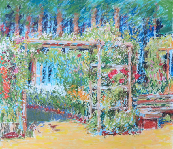 LS59: Vegetable Garden Pergola with Molly - 20th July 2020 by Simon Blackwood