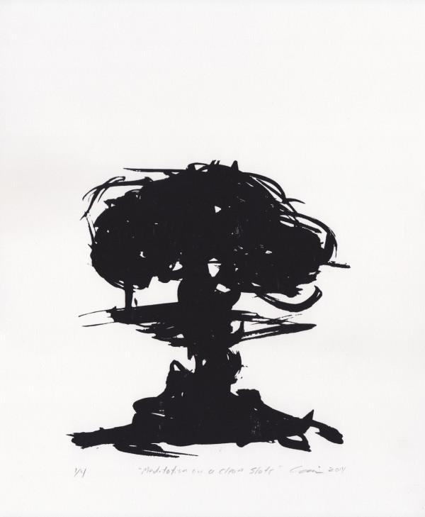 Meditation on a Clean Slate by Clovis Blackwell