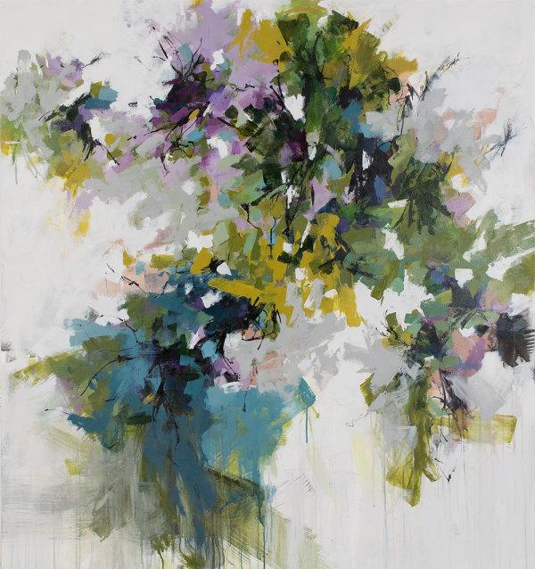 Jacaranda Blooms Came Early This Year by Carlos Ramirez