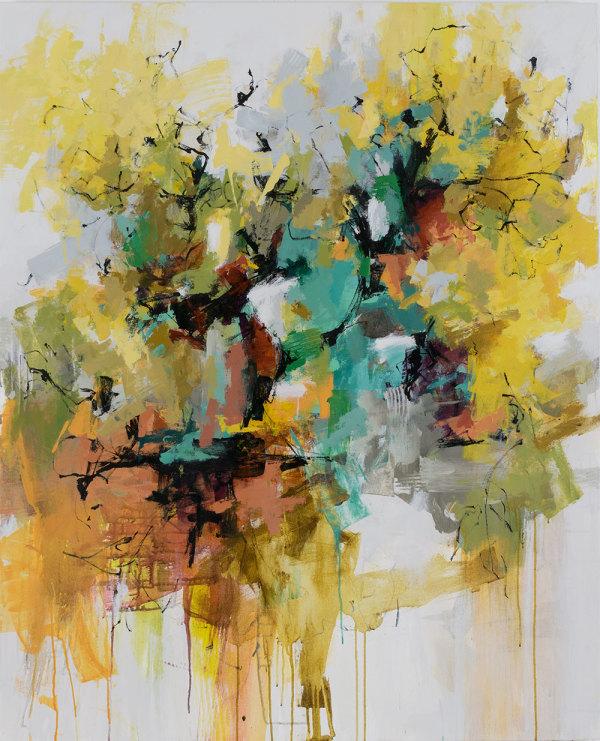 Underneath the Cottonwoods by Carlos Ramirez
