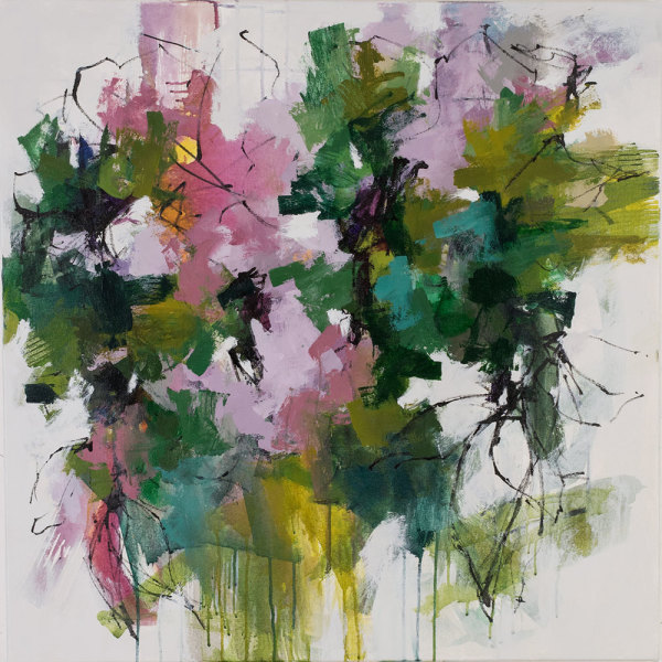 In the Garden 1 by Carlos Ramirez