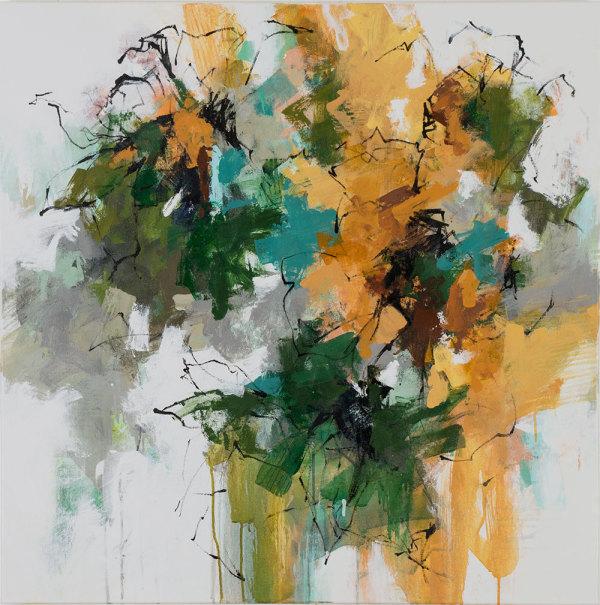 In the Garden 2 by Carlos Ramirez
