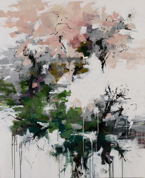 In a Japanese Garden by Carlos Ramirez