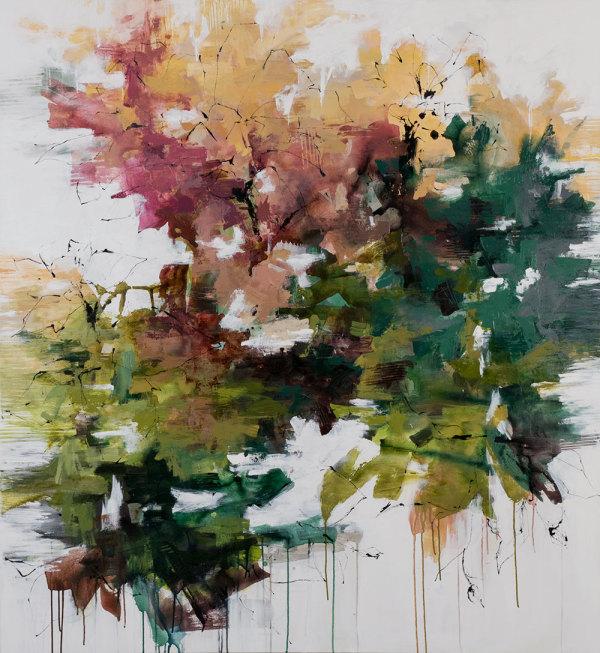 Beyond The Garden Gate by Carlos Ramirez
