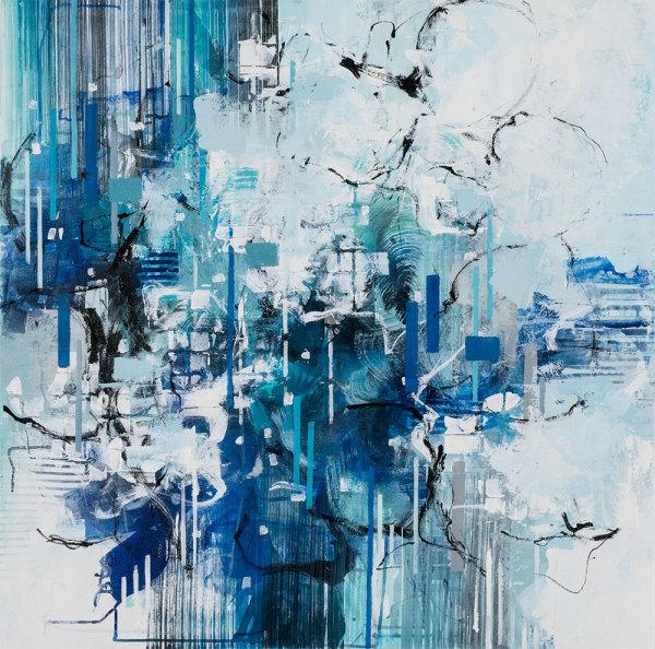 The Shape of Water I by Carlos Ramirez