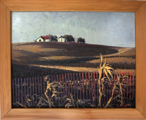 Corn Country #2  (Nebraska)  1969 by Eugene Kingman