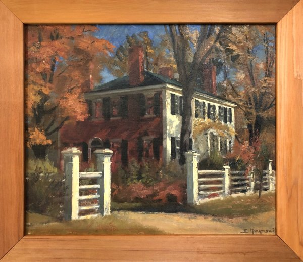 Home of the Honorable Foster Sterns   1939 by EUGENE KINGMAN
