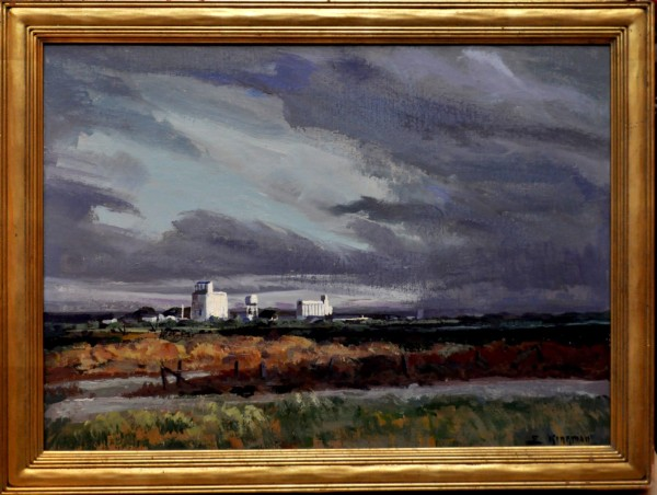 Approaching Storm  1971 by Eugene Kingman