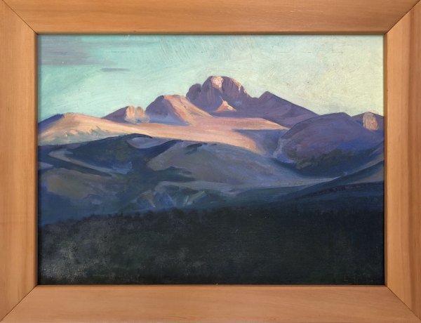 Southwest Mountain Peak c. 1970 by EUGENE KINGMAN