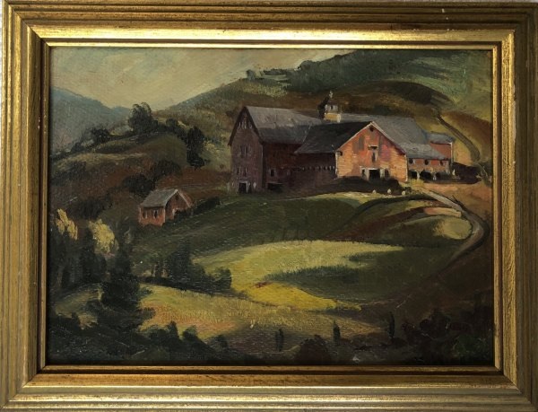 Sugar Hill Farm   1933 by Eugene Kingman