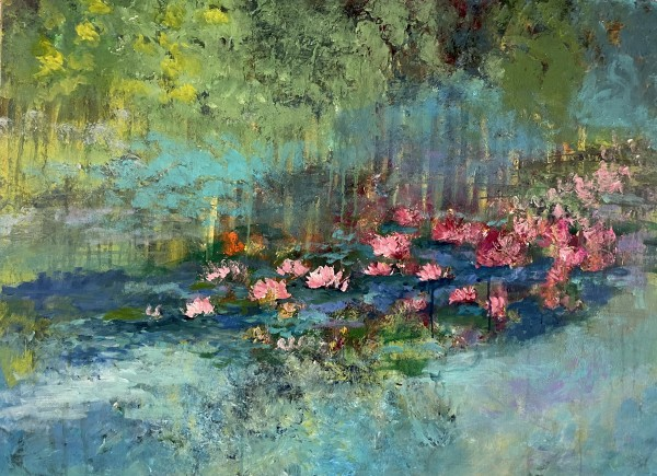 Waterlilies for Monet by Carmen Duran