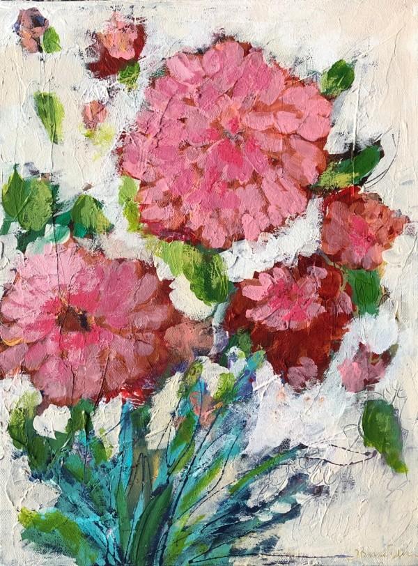 Strawberry Float by Carmen Duran