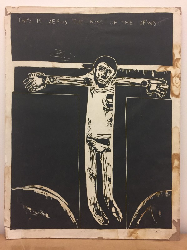 This is Jesus the King of the Jews by Meinrad Craighead