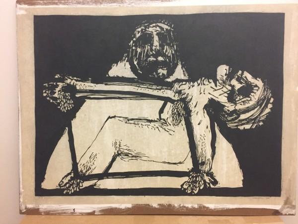 Pieta I by Meinrad Craighead