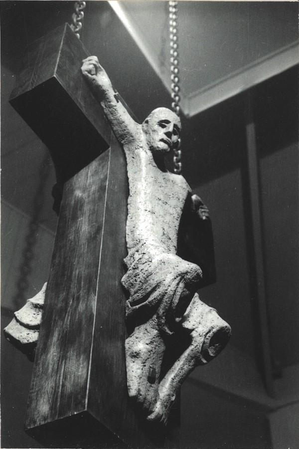 Crucifix (Double-Corpus) by Meinrad Craighead