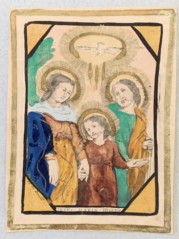 Iesus Maria Ioseph by Cornelius de Boudt