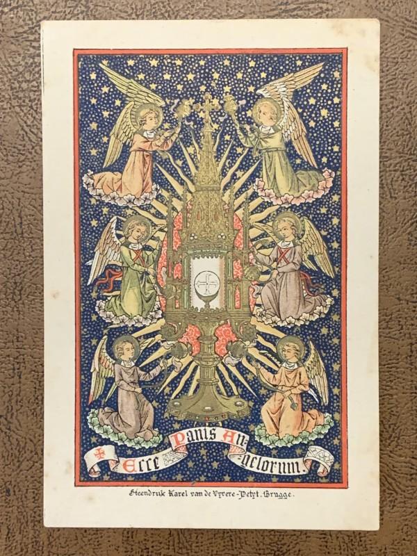 Ecce Panis Angelorum by Heendruk Karl van de Vyvere