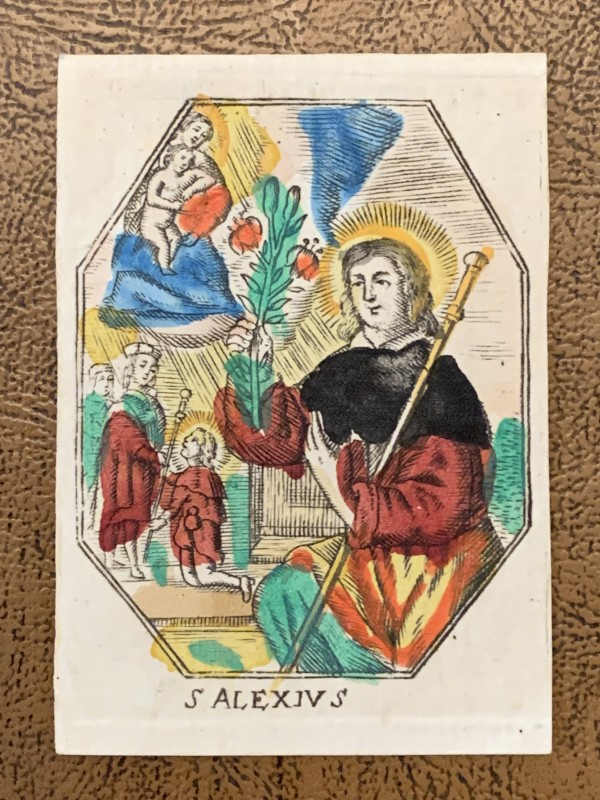 S. Alexius by Philippus Jacobus Brepols