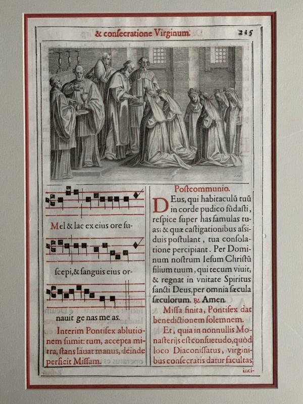 Et Consecratione Virginum