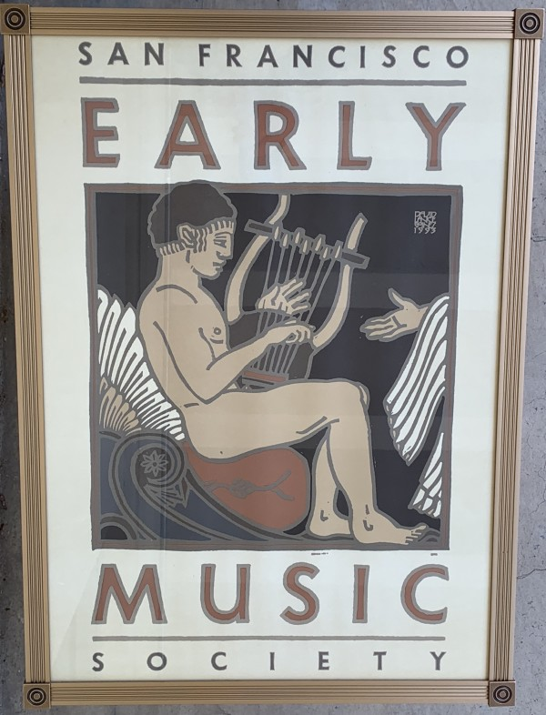 San Francisco Early Music  Society by David Lance Goines