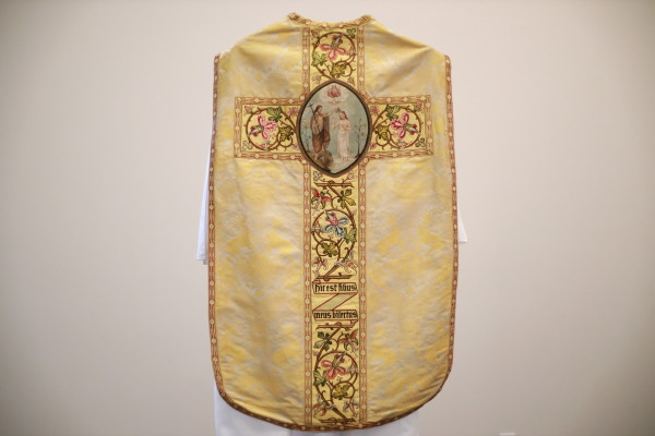 """Chasuble and Dalmatic Set - """"Baptism of the Lord"""""""