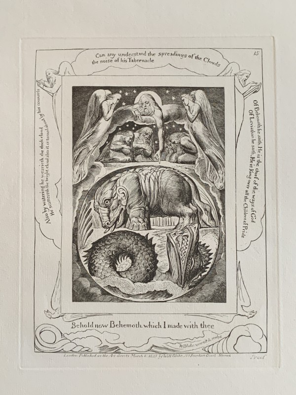Illustrations from the Book of Job by William Blake