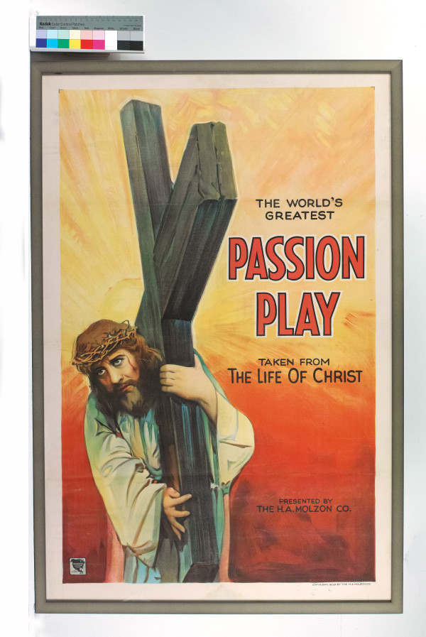 Passion Play, The World's Greatest by H. A. Molzon Co.