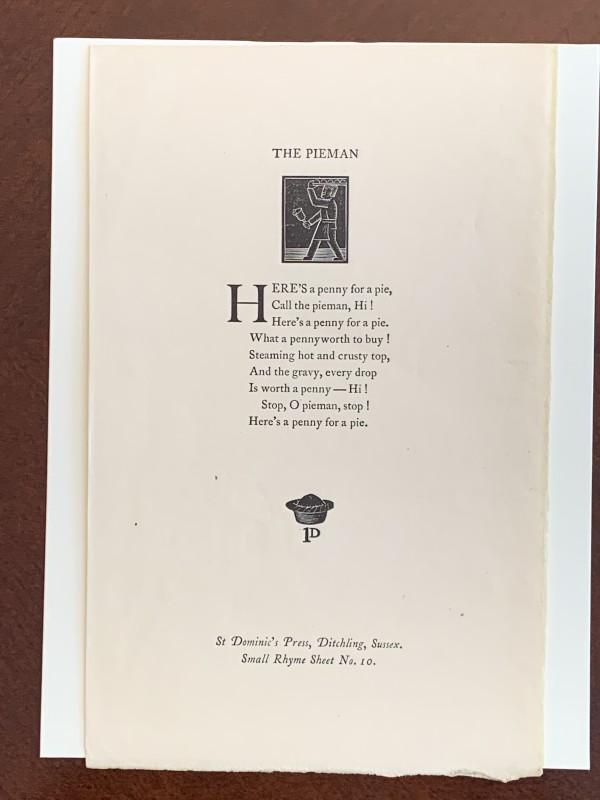 Pieman, The by Hilary Pepler
