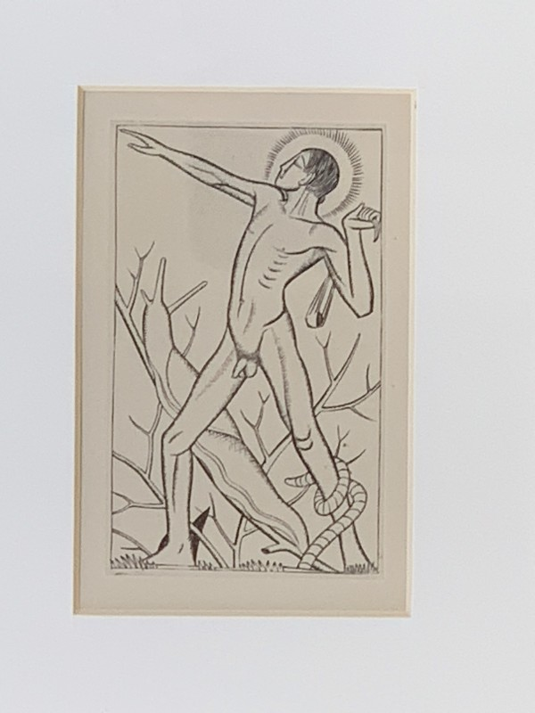 David by Eric Gill