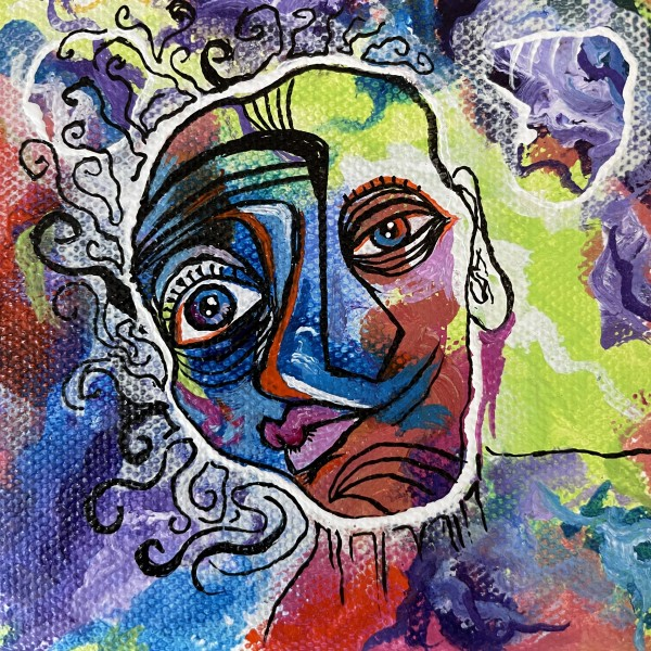 Two Sides to Every Face by Evelyn Dufner