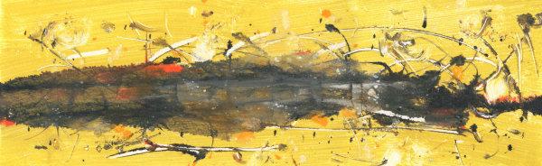 Yellow Landscape by Varouján Hovakimyan