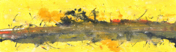 Yellow Landscape II by Varouján Hovakimyan