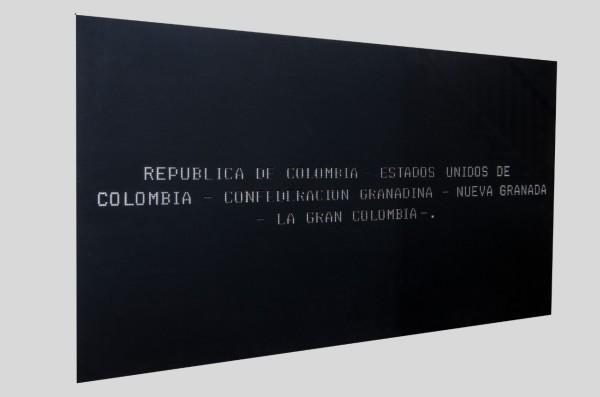 Ausencias - Repúblicas. Proof #1 by Jorge Luis Vaca Forero