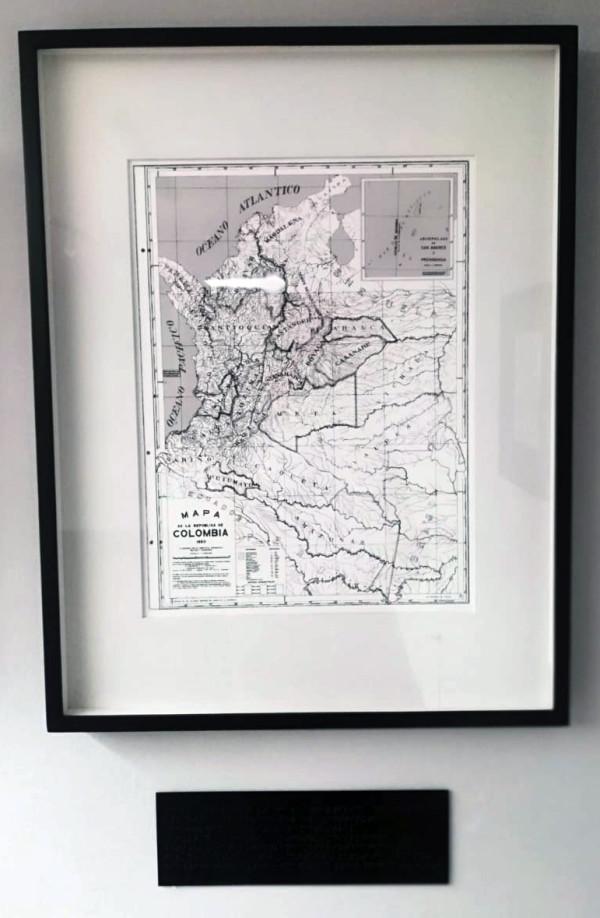 Repúblicas - Mapa de la República de Colombia 1950. Proof #1 by Jorge Luis Vaca Forero