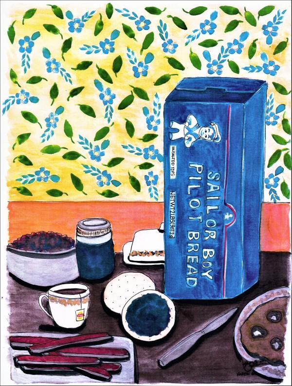 """""""A Day at Grandma's"""" by ALASKAN WATERCOLORS BY KAREN"""