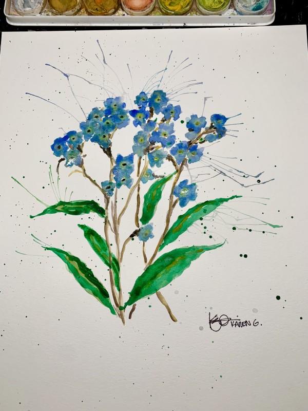 """Never Forget"" by ALASKAN WATERCOLORS BY KAREN"