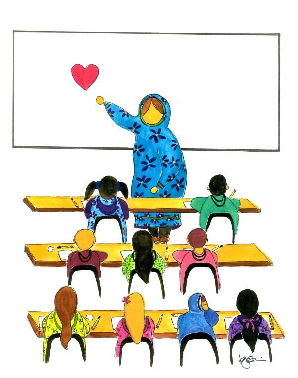 LABOR OF LOVE by ALASKAN WATERCOLORS BY KAREN
